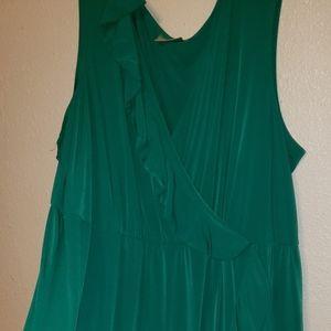 Fancy green dress